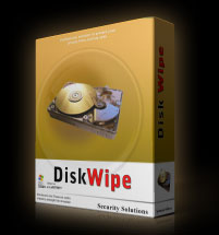 Disk Wipe software box picture